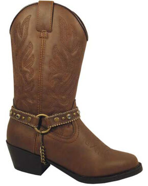 Smoky Mountain Toddlers' Charleston Cowgirl Boots, Distressed, hi-res