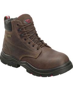 "Avenger Men's Waterproof 6"" Lace-Up Work Boots - Composite Toe, , hi-res"