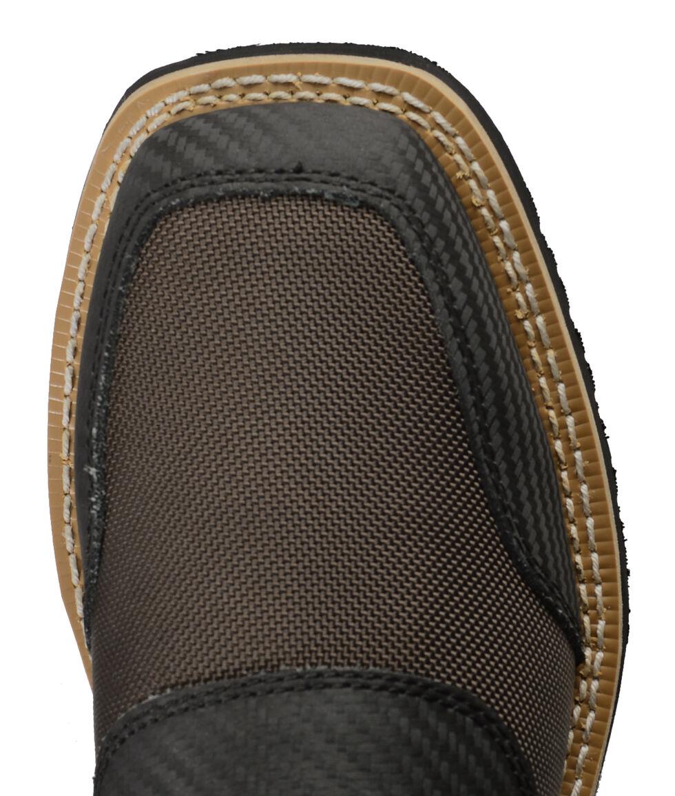 Cinch Brown Cordura H2O Waterproof Work Boots, Brown, hi-res