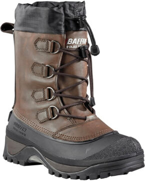 Baffin Men's Muskox Cold Weather Boots - Round Toe, Brown, hi-res