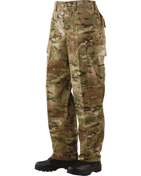 Tru-Spec Battle Dress Uniform Camo Cordura Nylon Pants - Big and Tall, Camouflage, hi-res