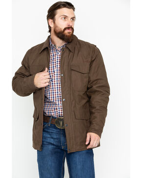 Ariat Men's Waggoner Canvas Carafe Jacket , Brown, hi-res