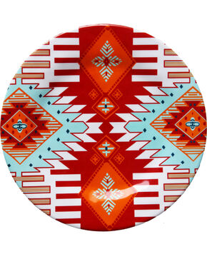 HiEnd Accent Multi Southwest Four-Piece Melamine Dinner Plate, Multi, hi-res