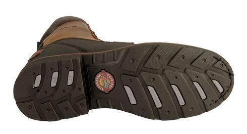 Justin Tec-Tuff Lace-Up Work Boots - Steel Toe, Black, hi-res
