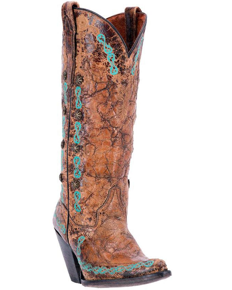 Dan Post Women's Maxi Western Boots - Snip Toe, , hi-res