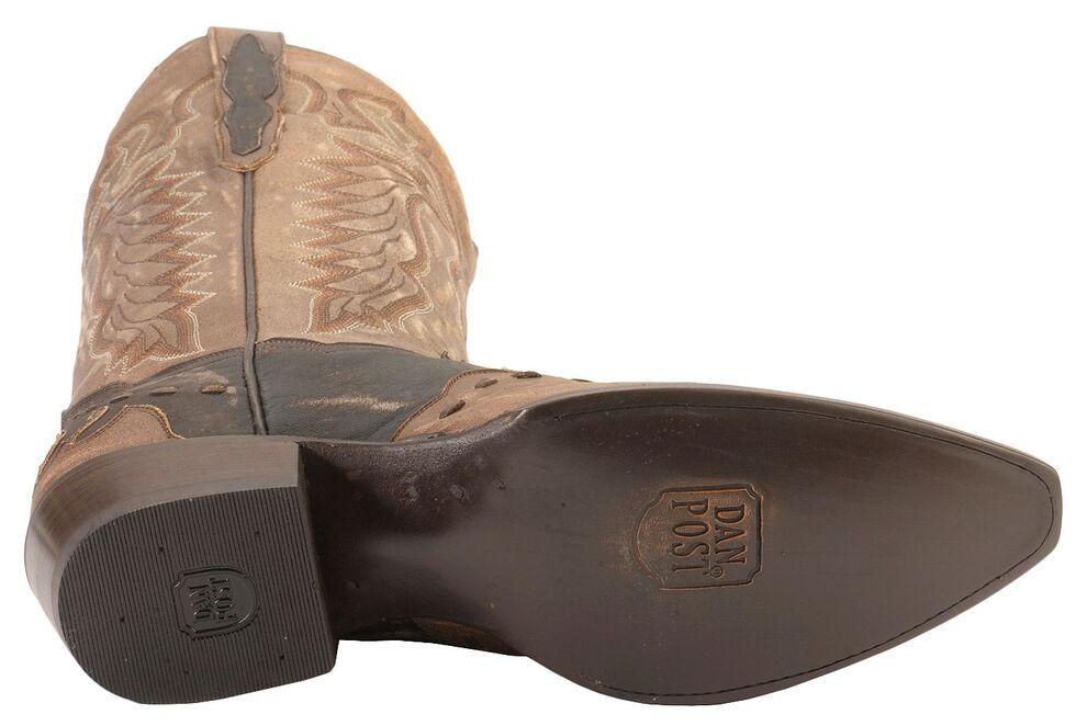Dan Post Lucky Break Cowboy Boots - Snip Toe, Chocolate, hi-res