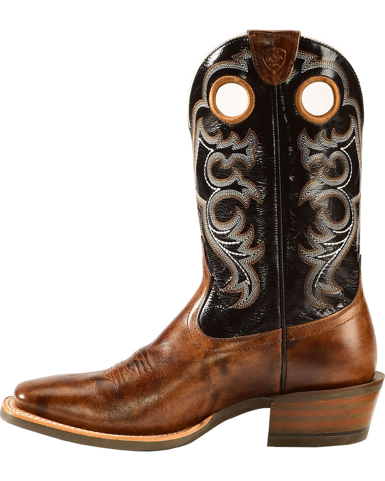 Ariat Men's Crossfire Performance Western Boots - Square Toe, Buckskin, hi-res