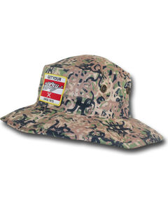 Hooey Men's Camo Ziggy Bucket Cap , Camouflage, hi-res