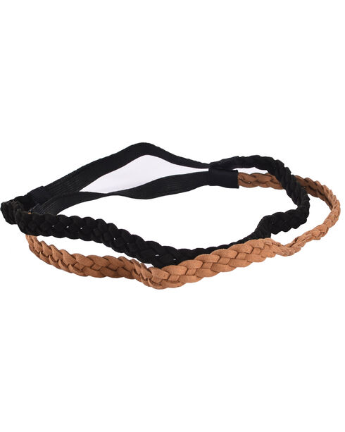 Shyanne Women's 2-Pack Braided Headbands, Multi, hi-res