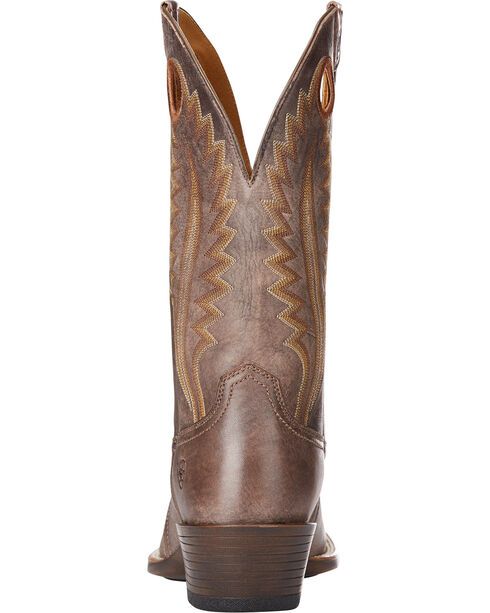 Ariat Men's Chocolate High Desert Tack Western Boots - Square Toe , Chocolate, hi-res