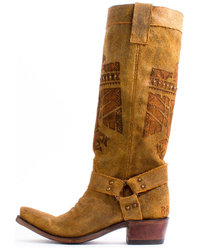 Junk Gypsy by Lane Honey She Who is Brave Cowgirl Boots - Snip Toe , Honey, hi-res