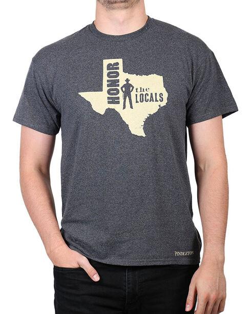 Pendleton Men's Texas Honor The Locals T-Shirt, Charcoal, hi-res