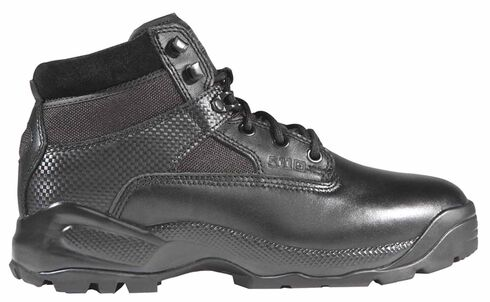 "5.11 Tactical Men's A.T.A.C. 6"" Side-Zip Boots, Black, hi-res"