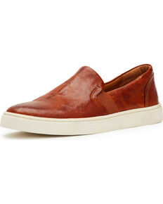 Frye Women's Cognac Ivy Slip-On Shoes , Cognac, hi-res