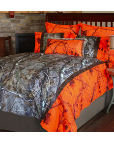 Carstens Realtree AP Blaze Twin Bedding - 3 Piece Set  , Orange, hi-res
