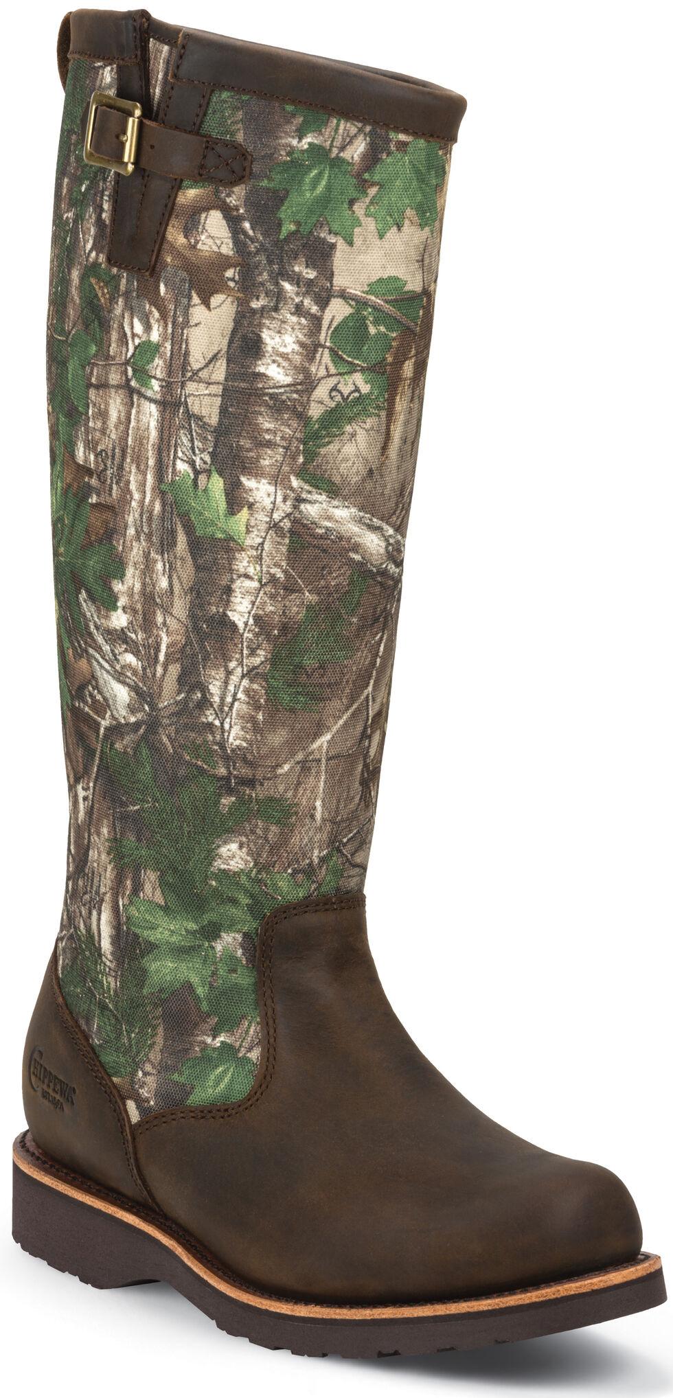 Chippewa Men's Tan Apache Snake Boots - Round Toe, Apache Tan, hi-res