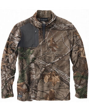Dri Duck Men's Realtree AP Xtra Camo Fleece , Camouflage, hi-res