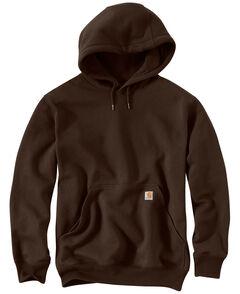 Carhartt Rain Defender Paxton Heavyweight Hooded Sweatshirt, Dark Brown, hi-res
