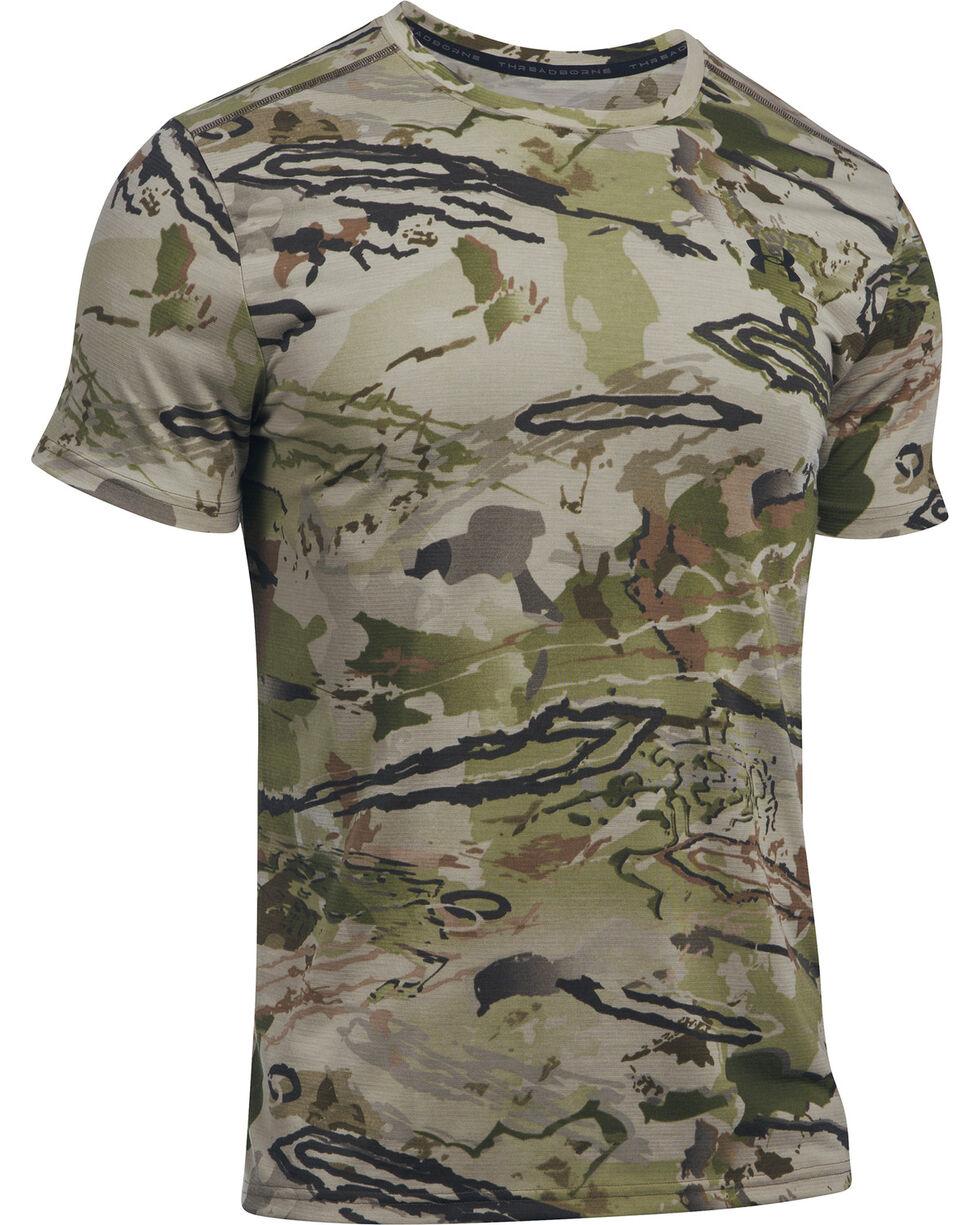 Under Armour Men's Ridge Reaper Early Season Short Sleeve Tee, Camouflage, hi-res