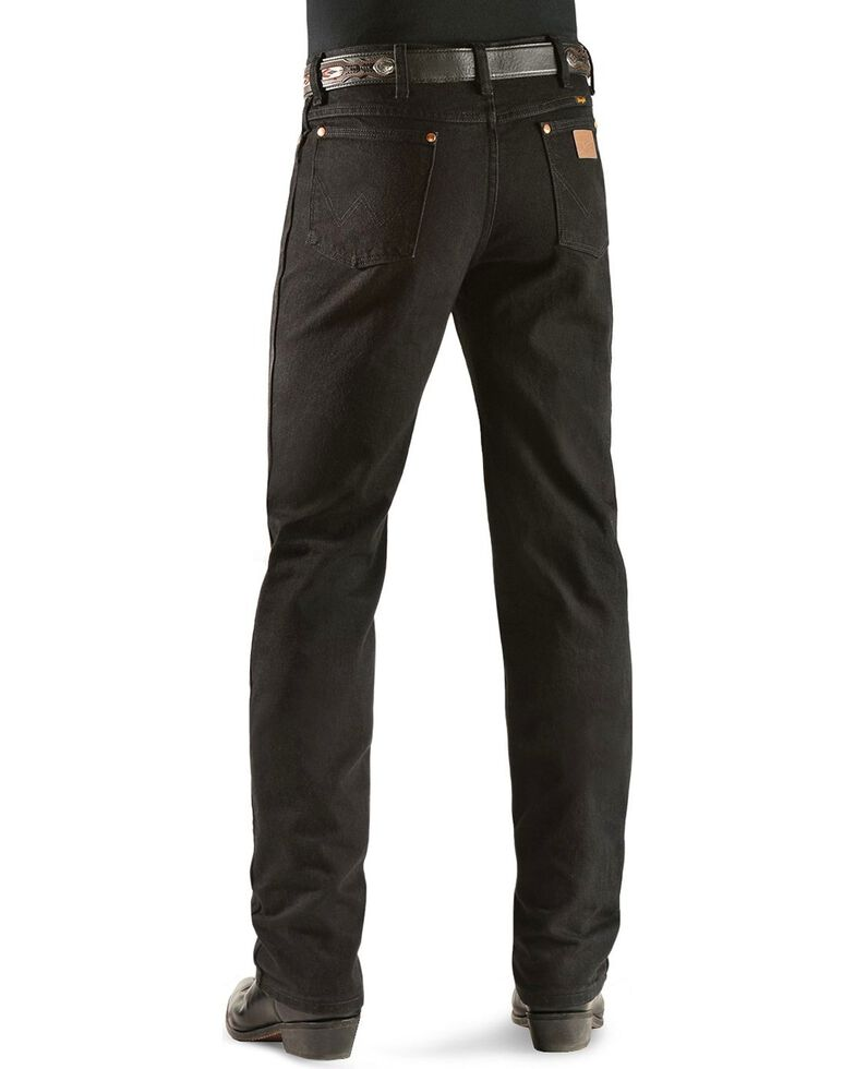 Wrangler 936 Cowboy Cut Slim Fit Jeans - Prewashed Colors, Shadow Black, hi-res