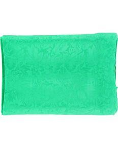 Kelly Green Jacquard Silk Wild Rag, Kelly Green, hi-res