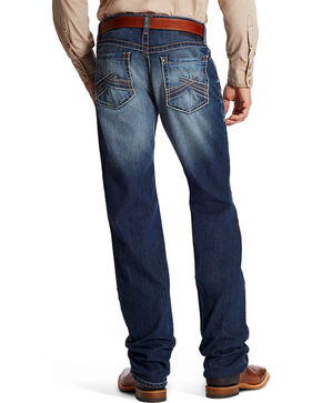 Ariat Men's M2 Copperhead Boot Cut Jeans, Indigo, hi-res