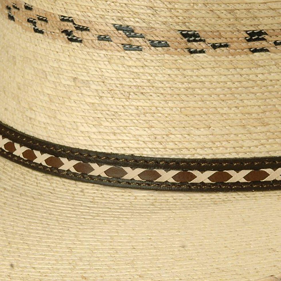 be9593cbf Larry Mahan 30X Pancho Gus Palm Straw Western Hat