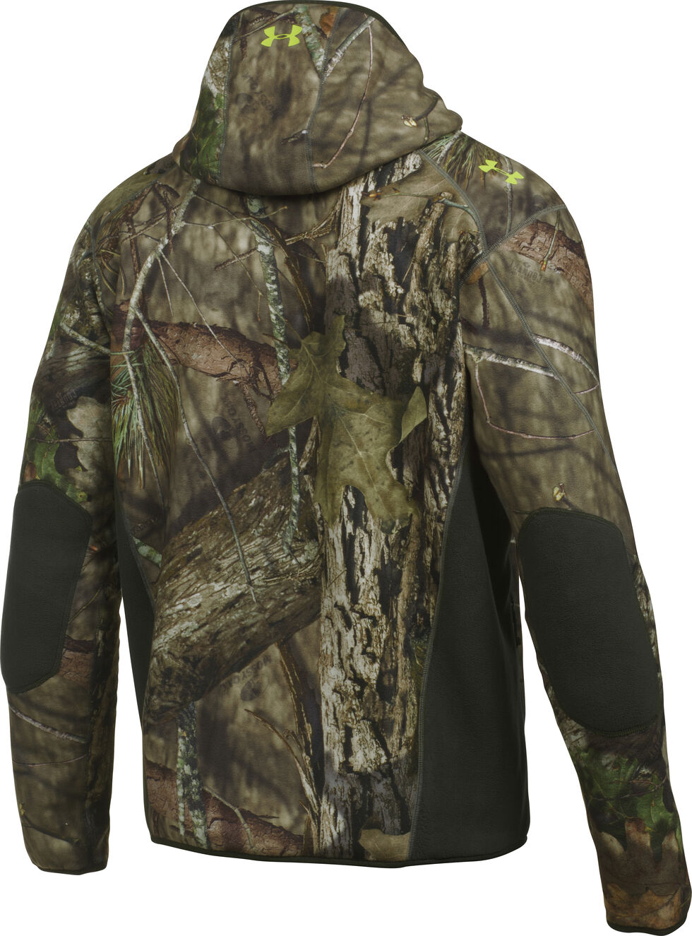 Under Armour Men's Stealth Hooded Jacket, Mossy Oak, hi-res