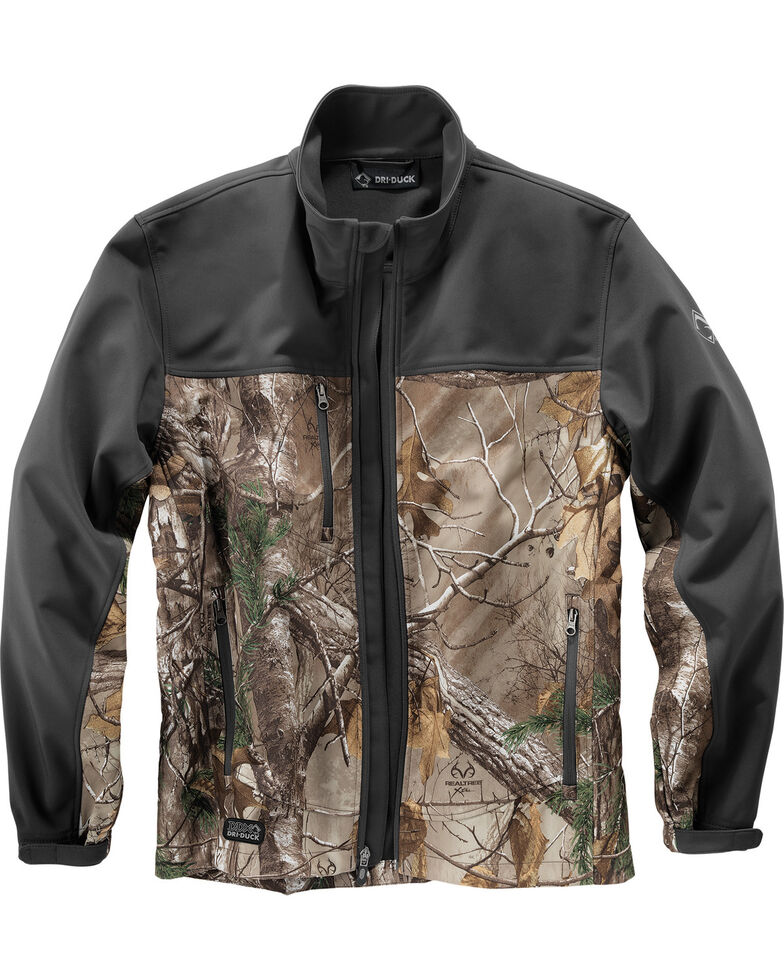 Dri-Duck Motion Camo Softshell Jacket - Big & Tall, Camouflage, hi-res