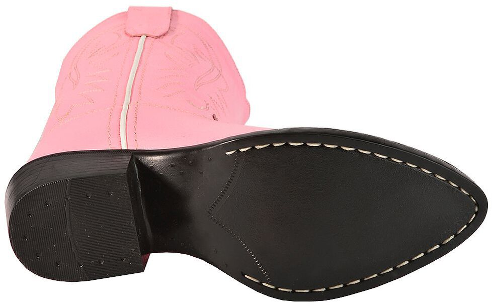 Old West Girls' Pink Cowgirl Boots, Pink, hi-res