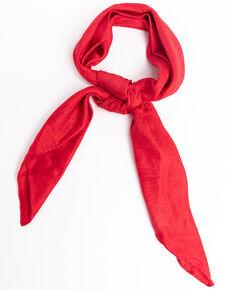 Cody James Men's Red Silk Jacquard Scarf , Red, hi-res