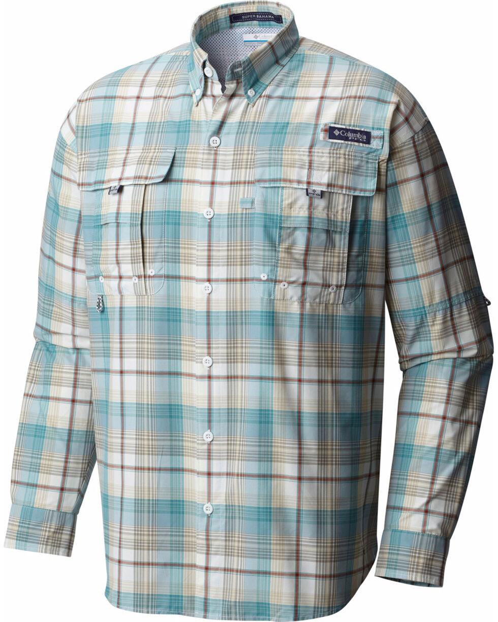 Columbia Men's Sage Super Bahama Plaid Shirt , Sage, hi-res