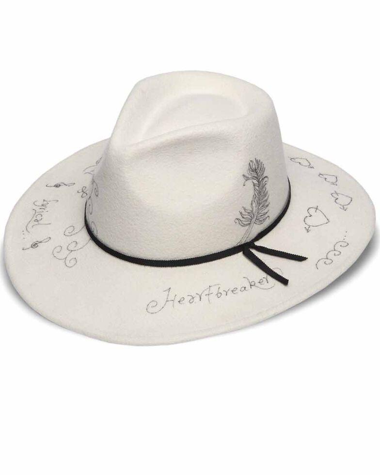 'ale by Alessandra Women's Rock N' Roll Wool Hat, White, hi-res
