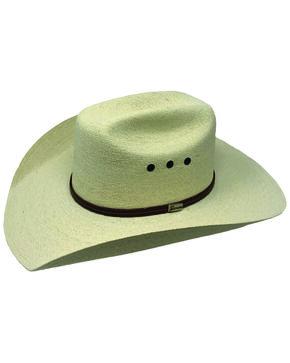 Atwood Maverick Palm Western Hat, Natural, hi-res