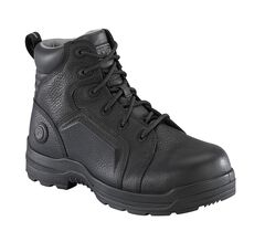 """Rockport More Energy Black 6"""" Lace-Up Work Boots - Composition Toe, Brown, hi-res"""