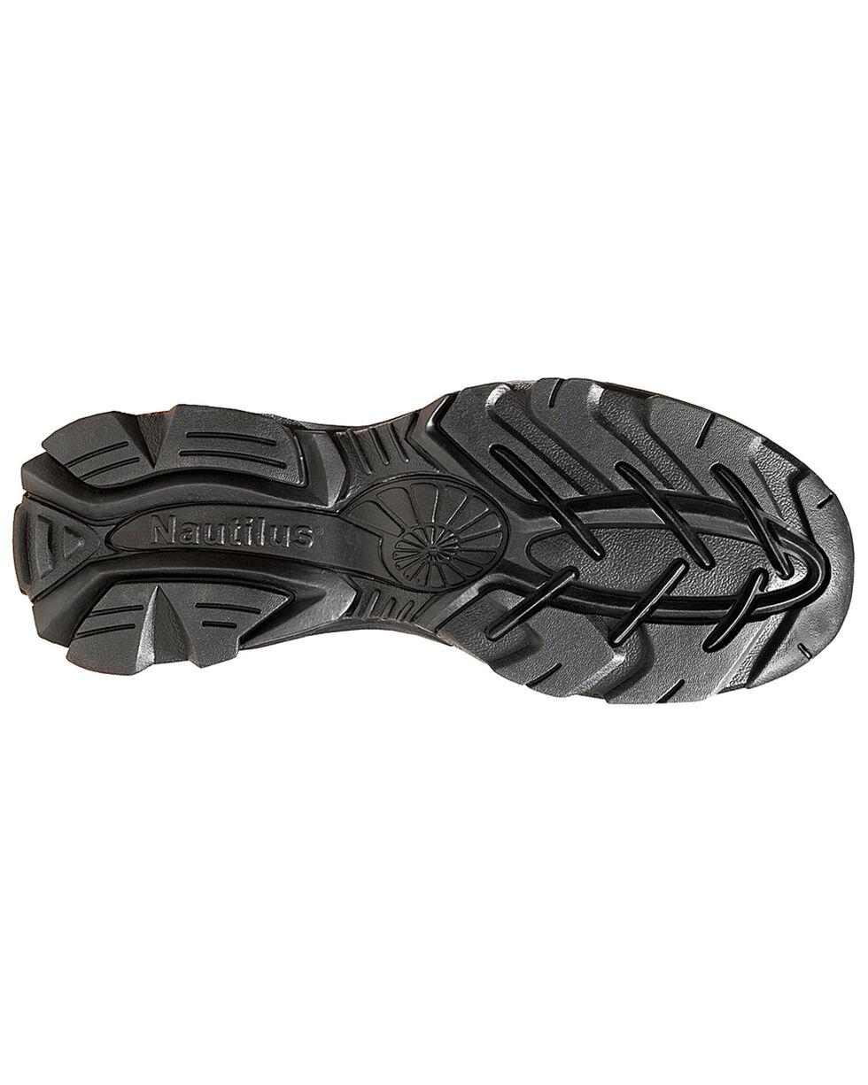 Nautilus Men's ESD Slip-On Work Shoes, Brown, hi-res