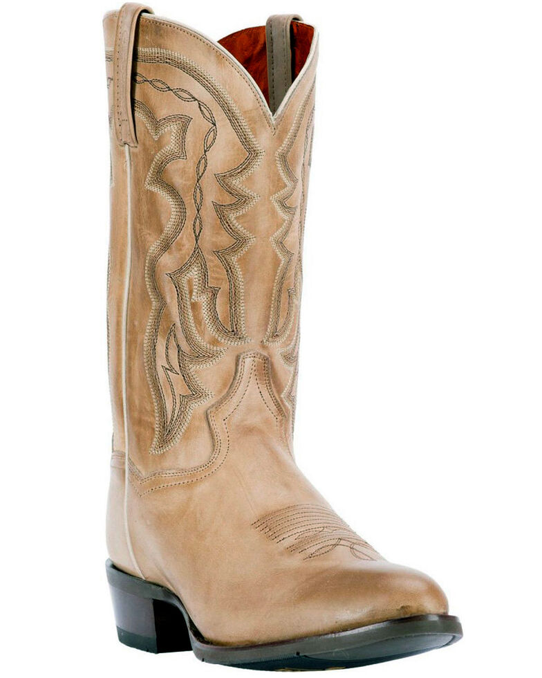 d1bf342ff6c Dan Post Men's Noah Burnished Sand Western Boots - Round Toe