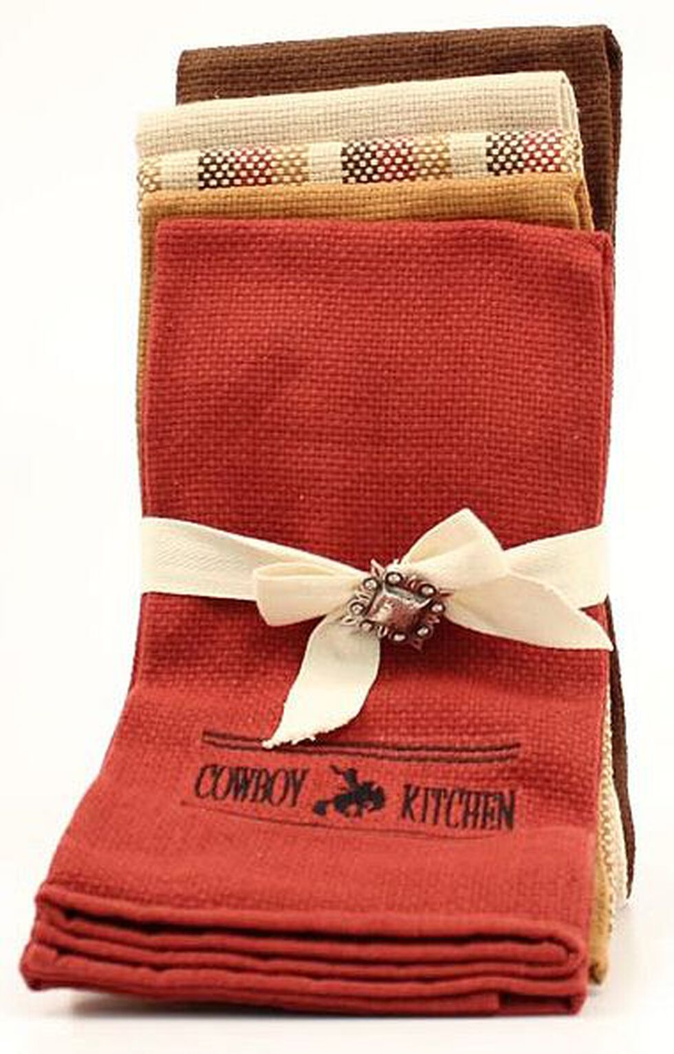 Cowboy Prayer Kitchen Towel Set, Multi, hi-res