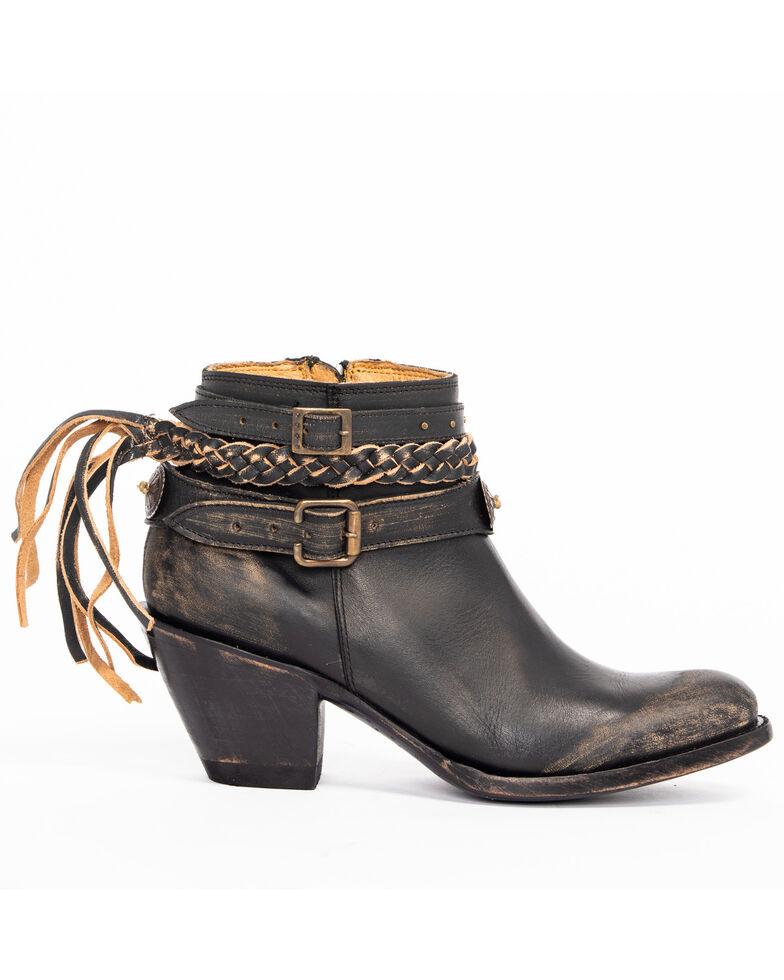 Idyllwind Women's Runaway Booties - Medium Toe, Black, hi-res