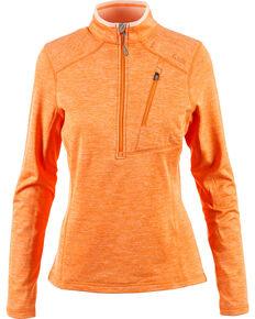 5.11 Women's Glacier Half-Zip Pullover , Peach, hi-res