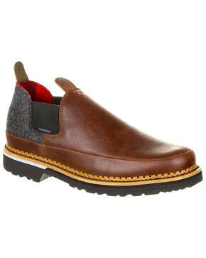 Georgia Boot Men's Giant Pendleton Romeo Shoes - Round Toe, Brown, hi-res