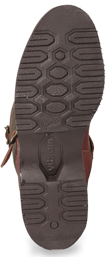 Chippewa Snake Proof Pull-On Work Boots, Brown, hi-res