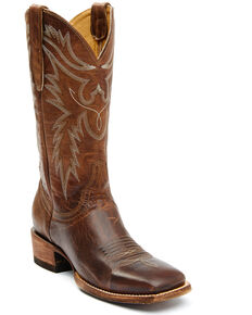 Idyllwind Women's Brash Western Boots - Wide Square Toe, Tan, hi-res