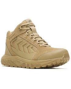 Bates Men's Rush Shield Work Boots - Soft Toe, Coyote, hi-res