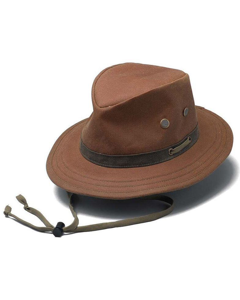 Outback Trading Co. Oilskin Willis Hat, Tan, hi-res