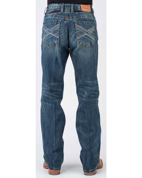 Stetson Men's 1312 Modern Fit Jeans - Boot Cut, Blue, hi-res