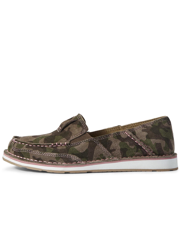 Camo Cruiser Shoes - Moc Toe