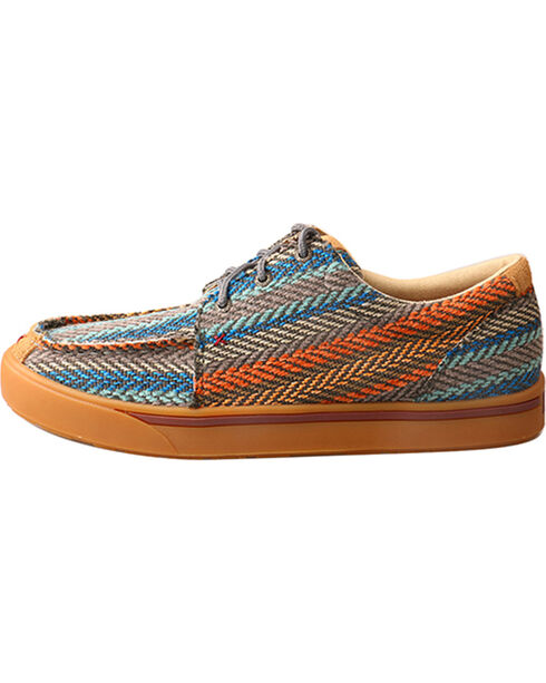 Hooey Lopers by Twisted X Men's Multi-Pattern Shoes, Multi, hi-res