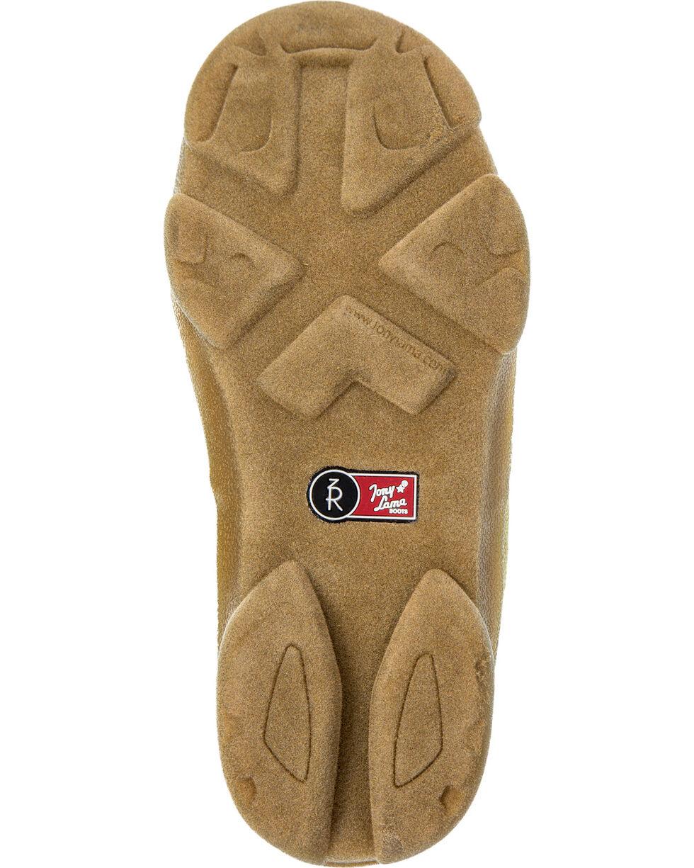 Tony Lama Boys' Tan Canvas Shoes , Tan, hi-res