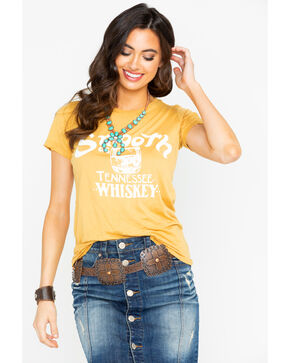 Bandit Women's Smooth As Tennessee Whiskey Tee, Gold, hi-res